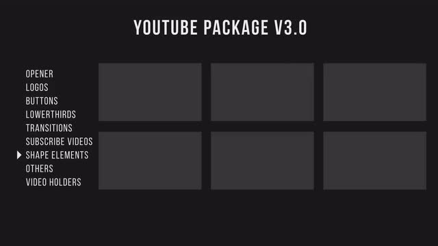 Youtube Package V3 - Premiere Pro Templates | Motion Array